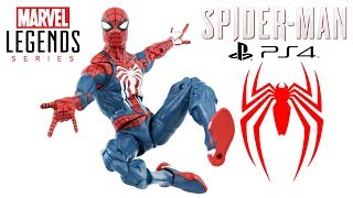 Review boneco Homem-Aranha do game Spider-Man PS4 Marvel Legends Gamerverse exclusive Gamestop