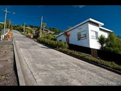 Baldwin Street - Dunedin New Zealand