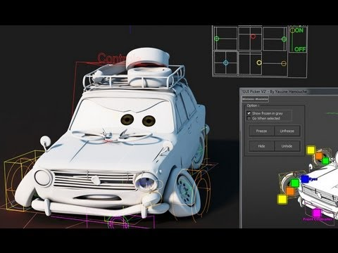 Toon Car rigging - YouTube