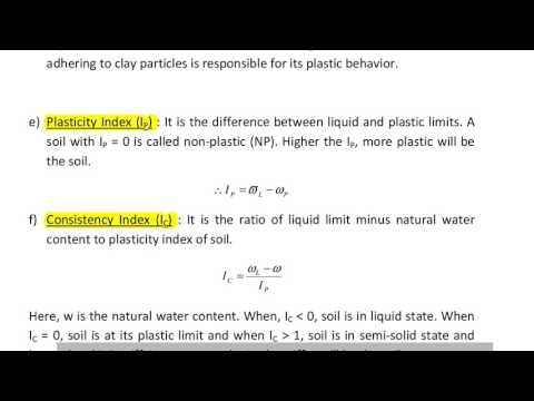 CONSISTENCY LIMITS || CIVIL ENGG SUBJECTIVE MATERIALS || PART -27