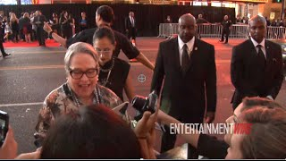 Kathy Bates Loving the fans at FX