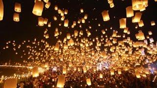 夜空いっぱいに灯る明かり。ディズニーも夢中になったタイのお祭り