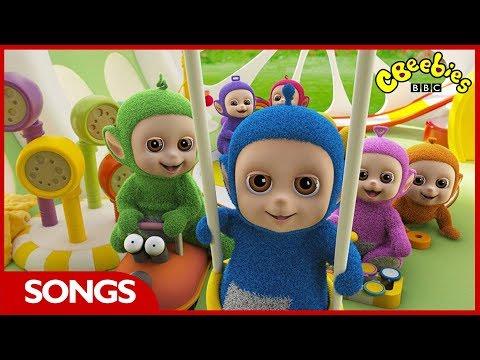 Teletubbies | Tiddlytubbies Song | CBeebies