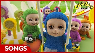 Teletubbies | Tiddlytubbies Song | CBeebies