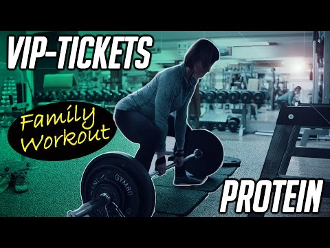 Family Workout / Training, Proteinkuchen & VIP-Tickets - Fitness hat keine Altersgrenze | SMARTGAINS