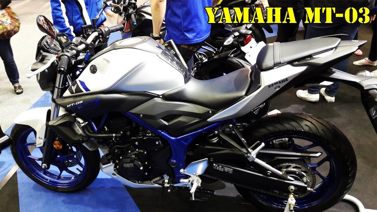 Yamaha Mt 03 2017 Idea Di Immagine Del Motociclo