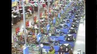 Black Friday Walmart St๐re Time Lapse