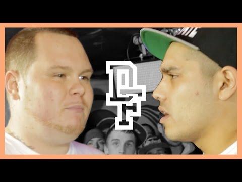 MICKY WORTHLESS VS BIG J | Don't Flop Rap Battle