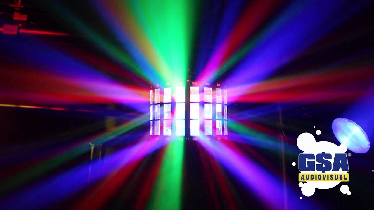Mini M 233 Ga Led St Power Lighting Gsa Audiovisuel Youtube
