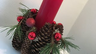 Jak zrobic stroik na Boże Narodzenie.