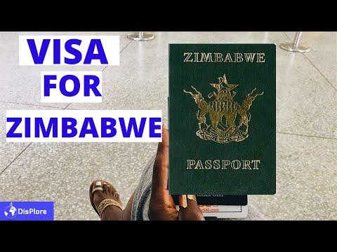 Visa Free Countries For Zimbabwean Passport Holders 2020
