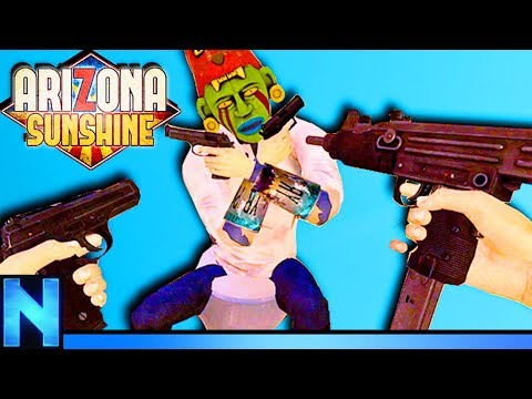 VR Zombie Adventure Done Right! - Arizona Sunshine