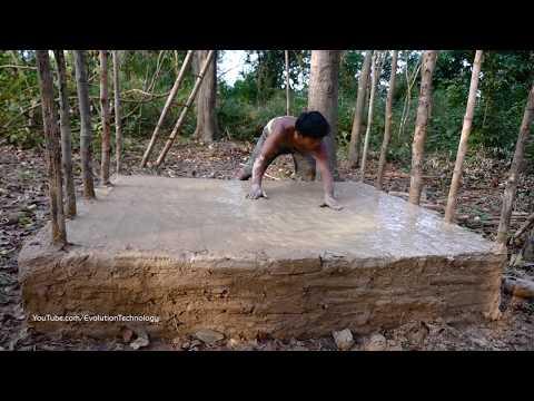 Primitive Technology, Mud huts, ep 3