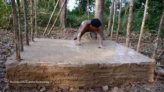 Primitive Technology, Mud huts, ep 3
