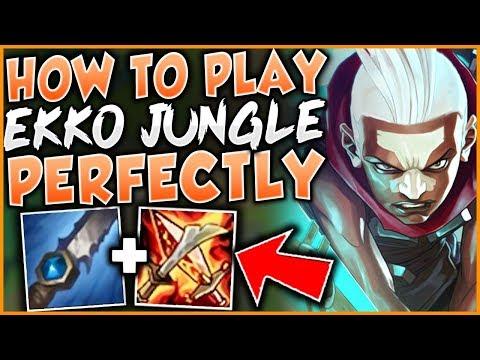 HOW TO PLAY EKKO JUNGLE PERFECTLY IN SEASON 9! CHALLENGER EKKO GAMEPLAY! - League of Legends