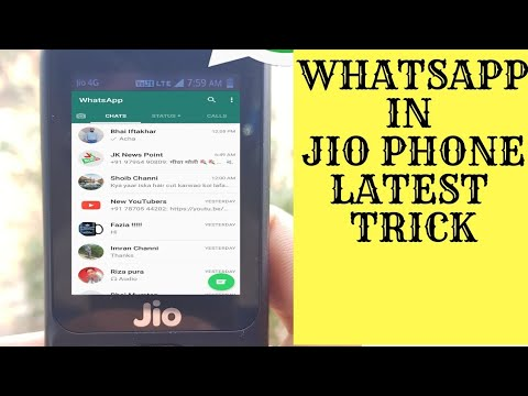 | how to install whatsapp in Jio Phone | use whatsapp in jiophone | install  whatsapp in jio phone