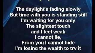 Karaoke klip Breathless - The Cors