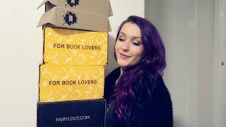 6 UNBOXINGS! | Fairyloot, Illumicrate, The YA Chronicles