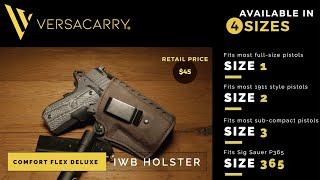 Versacarry® - Comfort Flex Deluxe (IWB) Holster