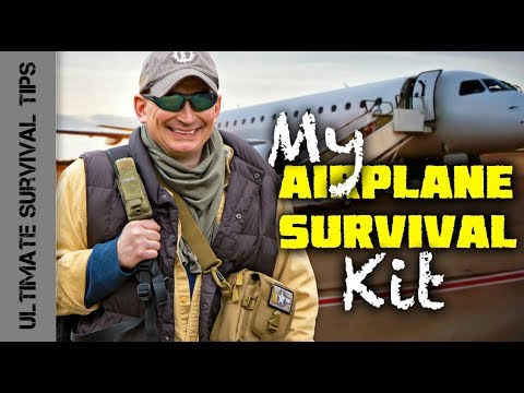 DIY - Airplane SURVIVAL KIT - 37 Crazy (TSA Compliant) Items You Need in an EMERGENCY