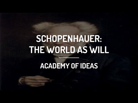 Introduction to Schopenhauer - The World as Will