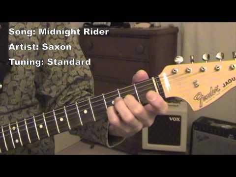 Midnight Rider - guitar lesson - YouTube
