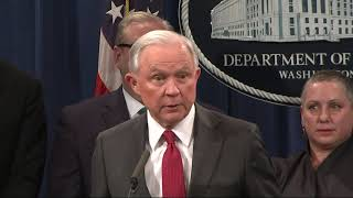 Sessions: 'The president speaks his mind'