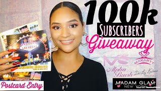100K Subscribers International Giveaway | Nails Supplies Giveaway | Giveaway Open From 09/01-10/01