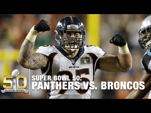Von Miller & Derek Wolfe Take Down Cam Newton For Sack! | Panthers vs. Broncos | NFL