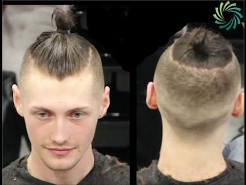 "Mens Hair Style:  ""Mun"" by professional barber Paul Mac"