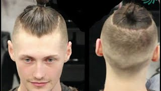 "Mens Hair Style:  ""Mun"" by professional barber Paul Mac"