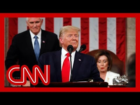 Trump's entire 2020 State of the Union address