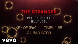 Billy Joel - The Stranger (Karaoke)