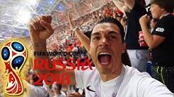 Ronaldo FIFA WM 2018 Tore gegen Spanien live im Stadion
