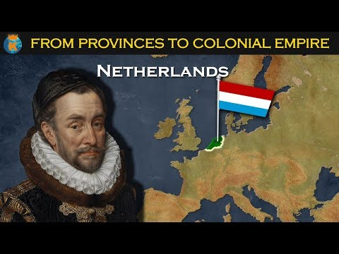 How did the Dutch create a colonial empire?