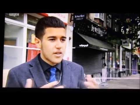 KINGSBURY JEWELLERY ROBBERY - BBC NEWS INTERVIEW (ORIGINAL)