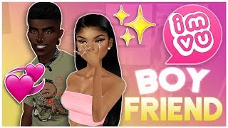 I HAVE A IMVU CELEBRITY BOYFRIEND!? FT. TRILLY GAMING