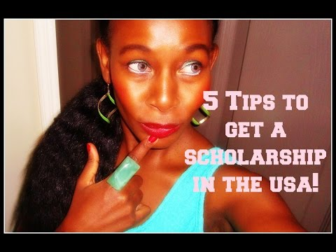 5 Tips To Get A USA Scholarship!