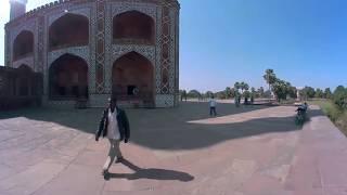 Индия 2018. Сикандра. Мавзолей Акбара Великого