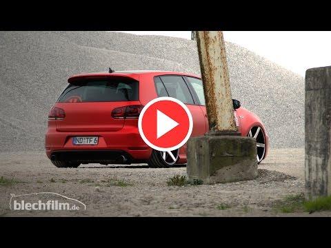 """Golf VI GTI on Vossen Wheels 10x20"""""""