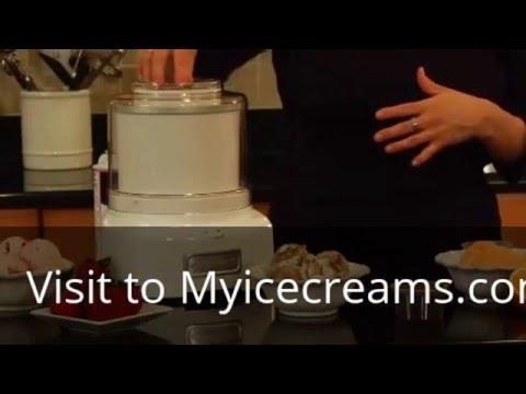 cuisinart ice cream maker manual
