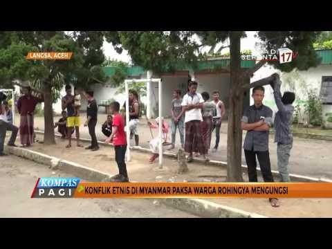 Warga Rohingya Nyaman Mengungsi di Aceh