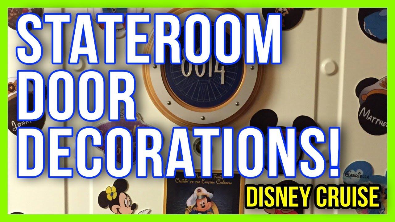 Disney Cruise Line Stateroom Door Decorations Part 1 | Doovi