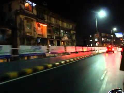 Mumbai night taxi ride