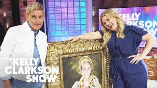 Ellen DeGeneres Surprises Kelly & Her Audience With A Super-Sized Gift | The Kelly Clarkson Show