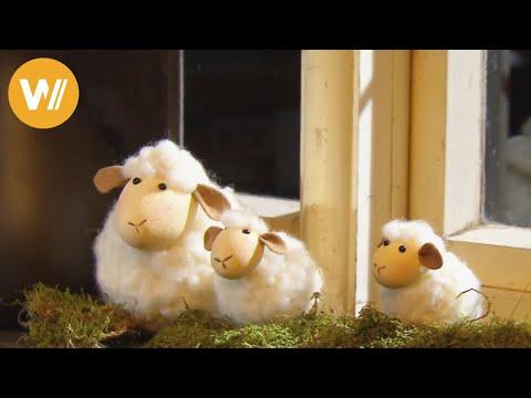 Osterlämmchen  – süsse kleine Schäfchen filzen (mit Anleitung!)