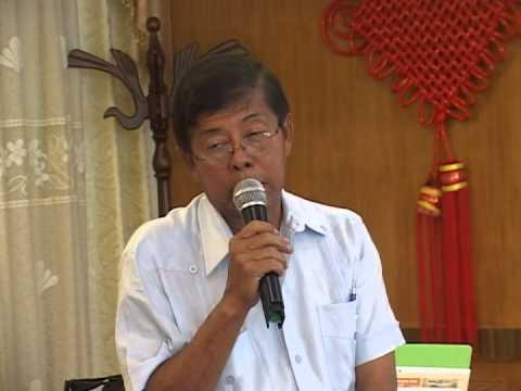 Stanley Ming presents the Guyana 2030 plan.