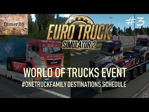 Euro Truck Simulator 2.  #3 Челлендж #ONETRUCKFAMILY