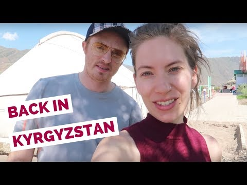Turkish Airlines flight from Budapest to Istanbul to Bishkek, Kyrgyzstan travel vlog