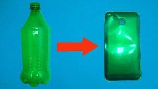 Cara Membuat Casing HP Pakai Botol Bekas
